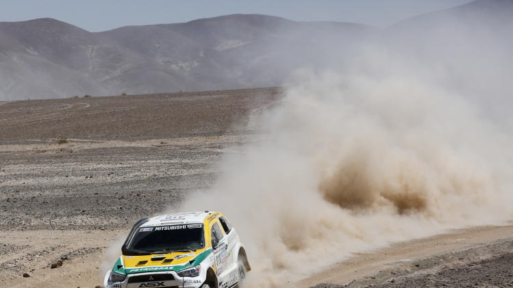 Spaniards Nani Roma, Marc Coma keep Dakar lead