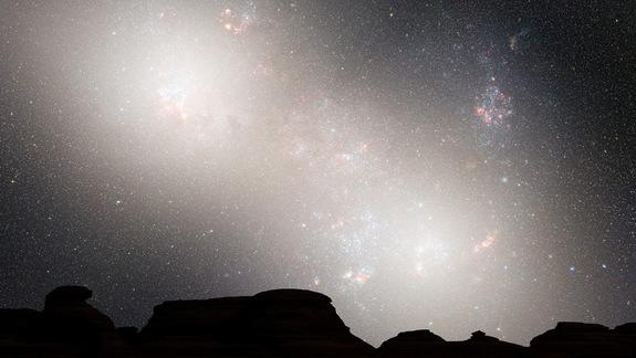 Milky Way Galaxy Doomed to Head-On Crash with Andromeda