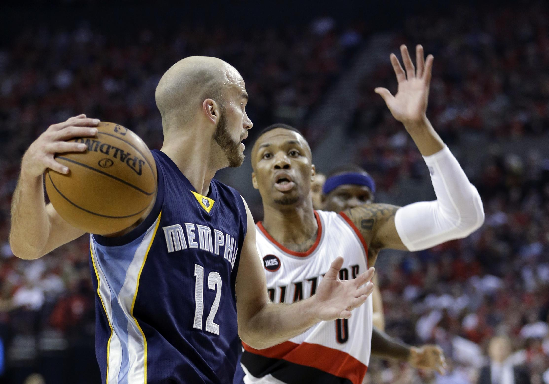 Blazers stave off elimination with 99-92 win over Memphis