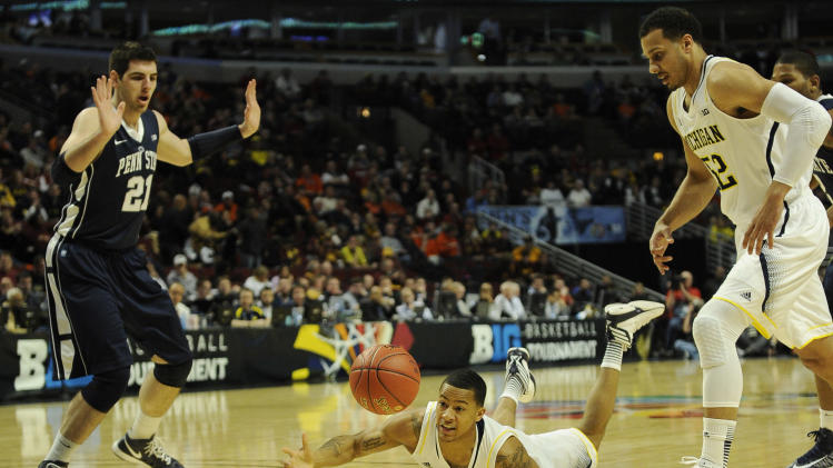 NCAA Basketball: Big Ten Tournament-Penn State vs Michigan