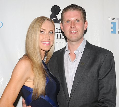 poster eric trump donald marries lara yunaska