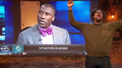 Reverend Shannon Sharpe
