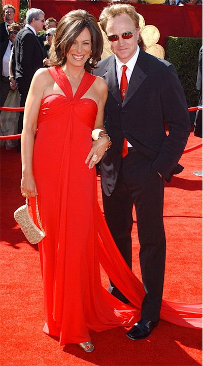 Jane Kaczmarek and Bradley Whitford at The 58th Annual Primetime Emmy Awards.