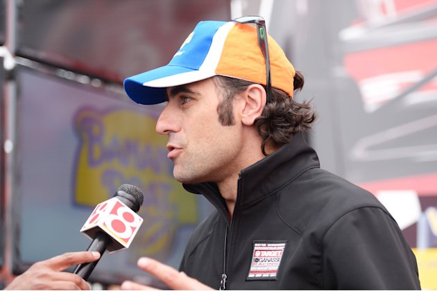Banana Boat Hosts Luncheon With Dario Franchitti