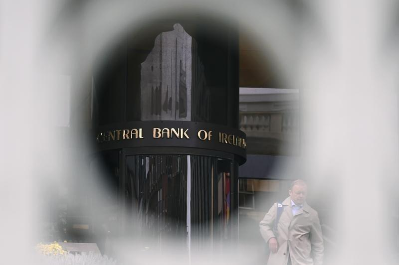 Irish central bank worried about progress on non-performing loans