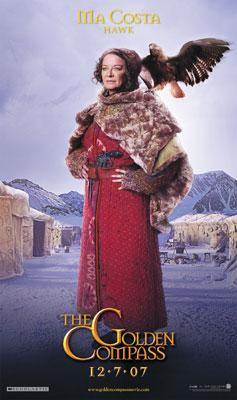 Clare Higginsn as Ma Costa in New Line Cinema's The Golden Compass