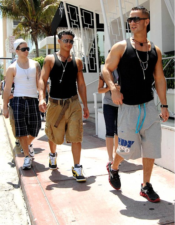 Jersey Shore Guys Miami Shppng