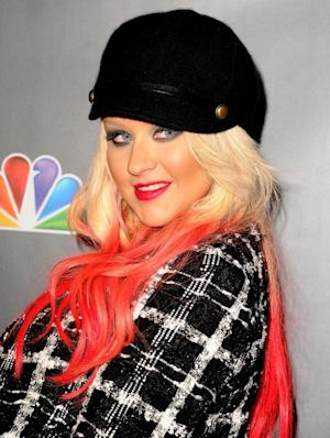 Christina Aguilera arrives at the NBC's 'The Voice' Season 3 at House of Blues Sunset Strip on November 8, 2012 -- Getty Premium