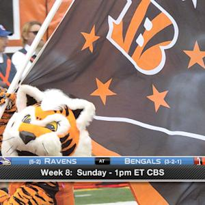 'Around the NFL' Podcast: Baltimore Ravens vs. Cincinnati Bengals
