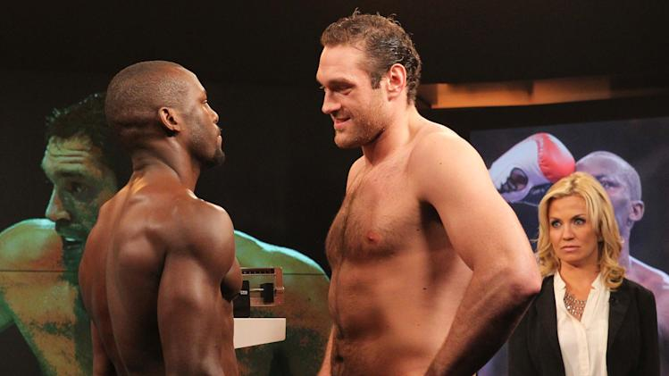 Boxing: Tyson Fury vs Steve Cunningham-Weigh-In