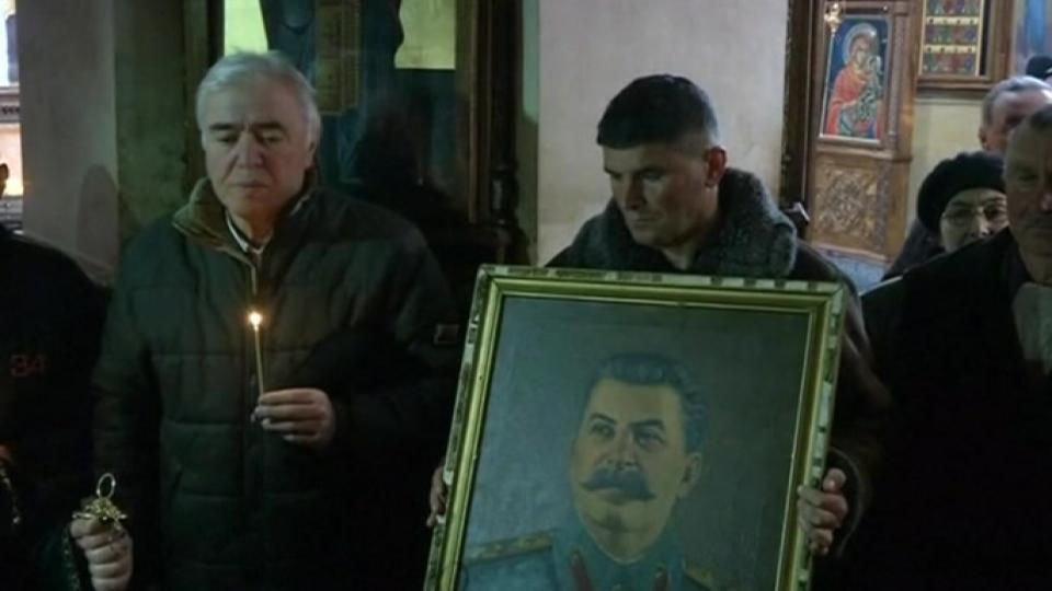 Georgia marks the anniversary of Stalin's death