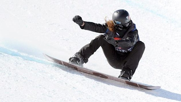 Shaun White of the US (AFP)