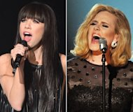 Adele and Carly Rae Jepsen Top iTunes Sales in 2012