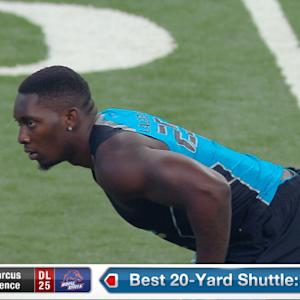 2014 Combine workout: Demarcus Lawrence