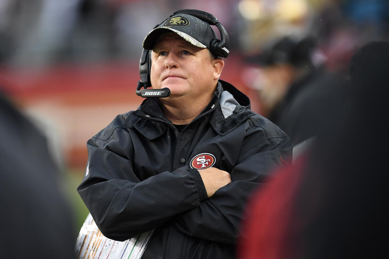 Chip Kelly refutes any possibility of leaving 49ers to go back to Oregon