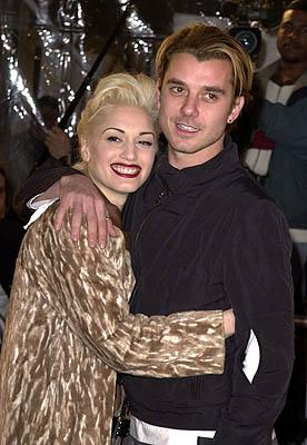 Gwen Stefani and Gavin Rossdale at the Mann National Theater premiere of Dreamworks' The Mexican