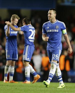 Chelsea, Real Madrid reach Champions League semis