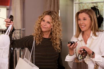Meg Ryan and Annette Bening in Picturehouse's The Women