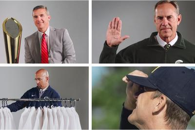 You rarely get to see head coaches having fun, so these 13 Big Ten ads are cool