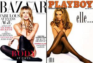 Elle McPherson | Photo Credits: Harper's Bazar; Playboy