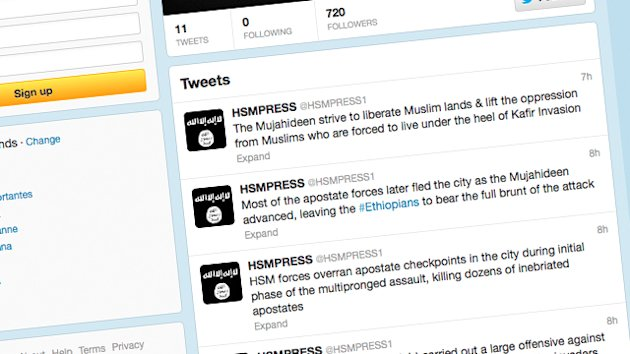 Al Qaeda Group on Twitter After Ban (ABC News)
