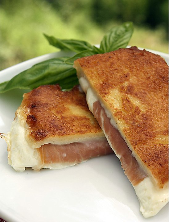 Make Italian Grilled Cheese