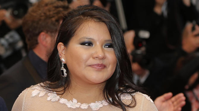 "In this May 17, 2013 file photo, actress Misty Upham arrives for the screening of the film Jimmy P.: Psychotherapy of a Plains Indian, at the 66th international film festival, in Cannes, southern France. The King County medical examiner has confirmed Friday Oct. 17, 2014 that a body found in a ravine in the Seattle suburb of Auburn is that of missing actress Misty Upham, known for her roles in ""August: Osage County,"" ''Frozen River"" and ""Django Unchained."" (Photo by Todd Williamson/Invision/AP, File)"