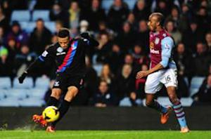 Aston Villa 0-1 Crystal Palace: Last-gasp Gayle lifts Eagles out of drop zone