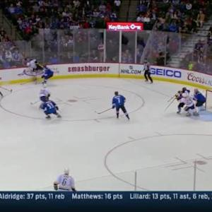 Semyon Varlamov Save on Taylor Beck (02:55/3rd)