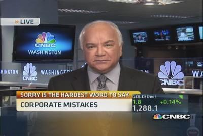 Corporate mistakes and sorry CEOs