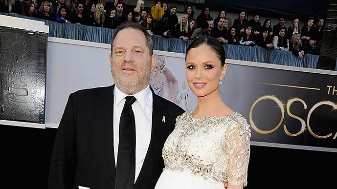 85th Annual Academy Awards - Arrivals: Harvey Weinstein and Georgina Chapman