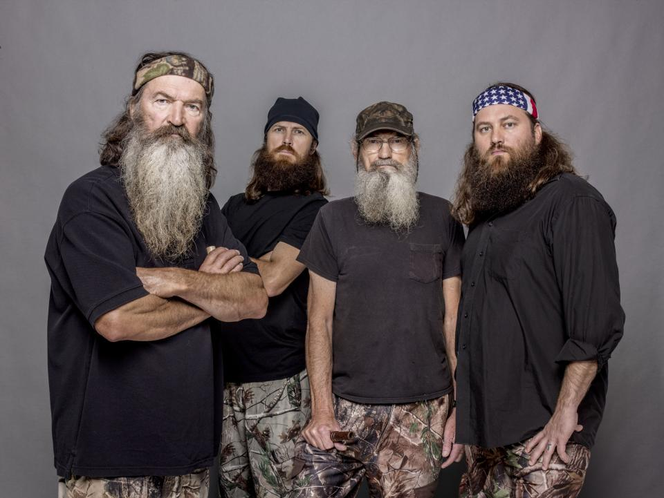 'Duck Dynasty' stars swap jokes, greet fans