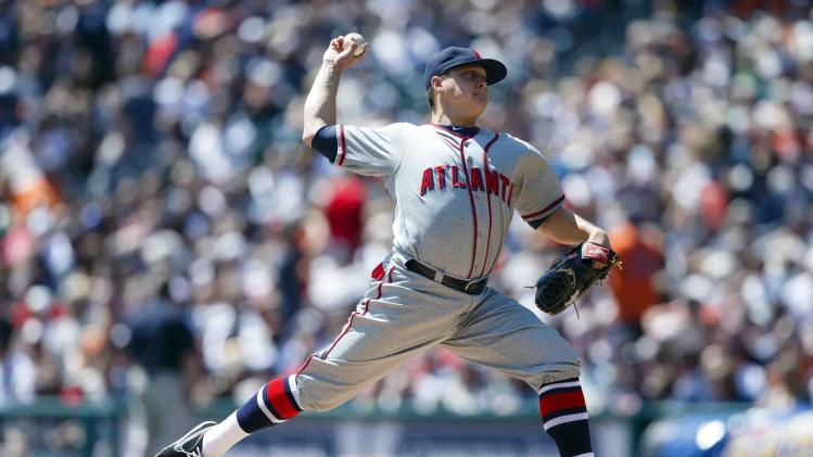 MLB: Atlanta Braves at Detroit Tigers