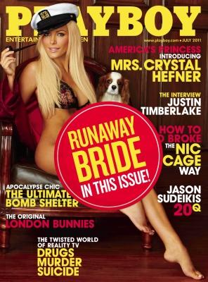 Crystal Harris on the July 2011 cover of Pplayboy -- Playboy
