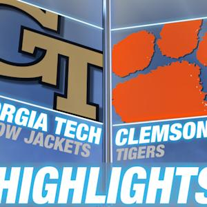 Georgia Tech vs Clemson | 2015 ACC Women's Tournament Highlights