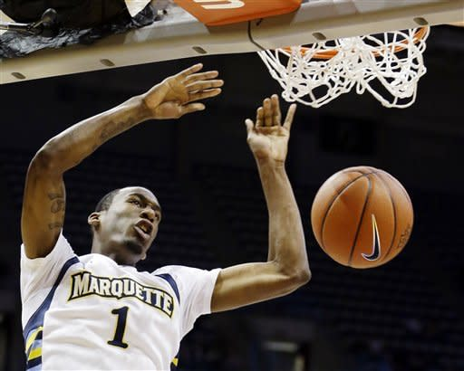 Marquette blasts Maryland-Baltimore County 79-46