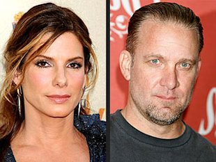 Sandra Bullock and Jesse James. Photo: Gilbert Flores/Celebrity Photo; Jeffrey Mayer/WireImage