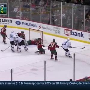 Darcy Kuemper Save on Patrick Marleau (06:07/1st)