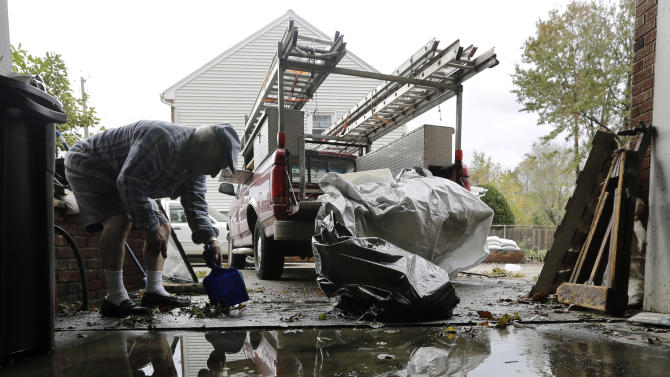 Inland NJ town reeling from river flooding
