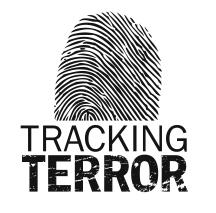 Logo to accompany the Tracking Terror series