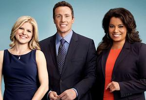 Kate Bolduan, Chris Cuomo, Michaela Pereira | Photo Credits: CNN