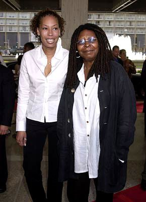 Premiere: Whoopi Goldberg and daughter at the Century City premiere of Paramount's Rat Race - 7/30/2001