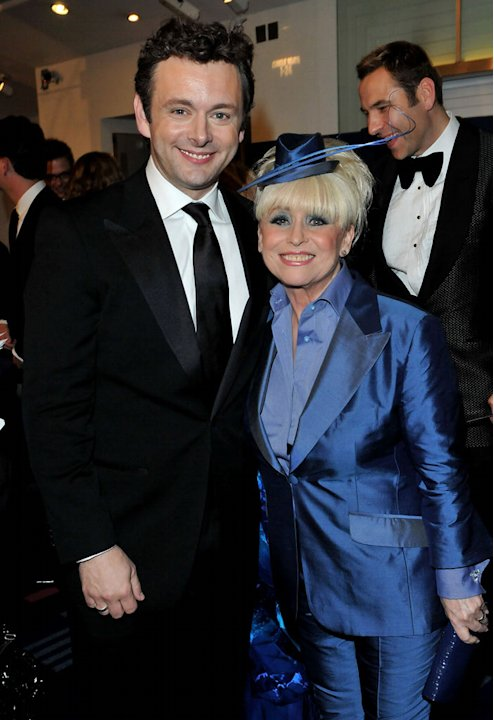 Alice in Wonderland UK Premiere 2010 Michael Sheen Barbara Windsor