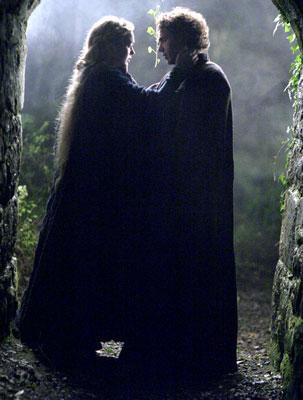 Sophia Myles and James Franco in 20th Century Fox's Tristan & Isolde
