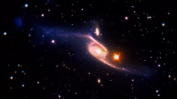 Largest Spiral Galaxy in Universe Revealed
