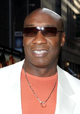 Michael Clarke Duncan at the New York premiere of Dreamworks' The Island