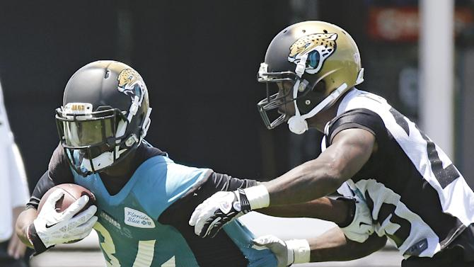 Jaguars dealing with WR woes during OTAs