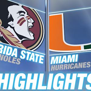 Florida State vs Miami - April 24 | 2015 ACC Baseball Highlights