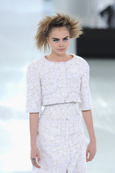 Cara Delevingne / Chanel Haute Couture Spring 2014 / Foto: Getty Images