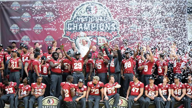 NCAA Football: BCS National Championship-Florida State Celebration